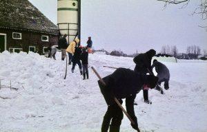 Ten Boer sneeuw 1979