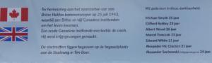 plaquette Ten Boer, mei 2021